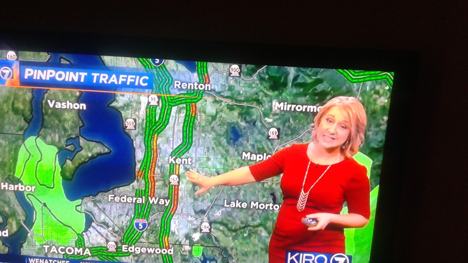 King 5 Traffic Map.Barers Of Maple Valley Popular Traffic Reporter Taylor To Return