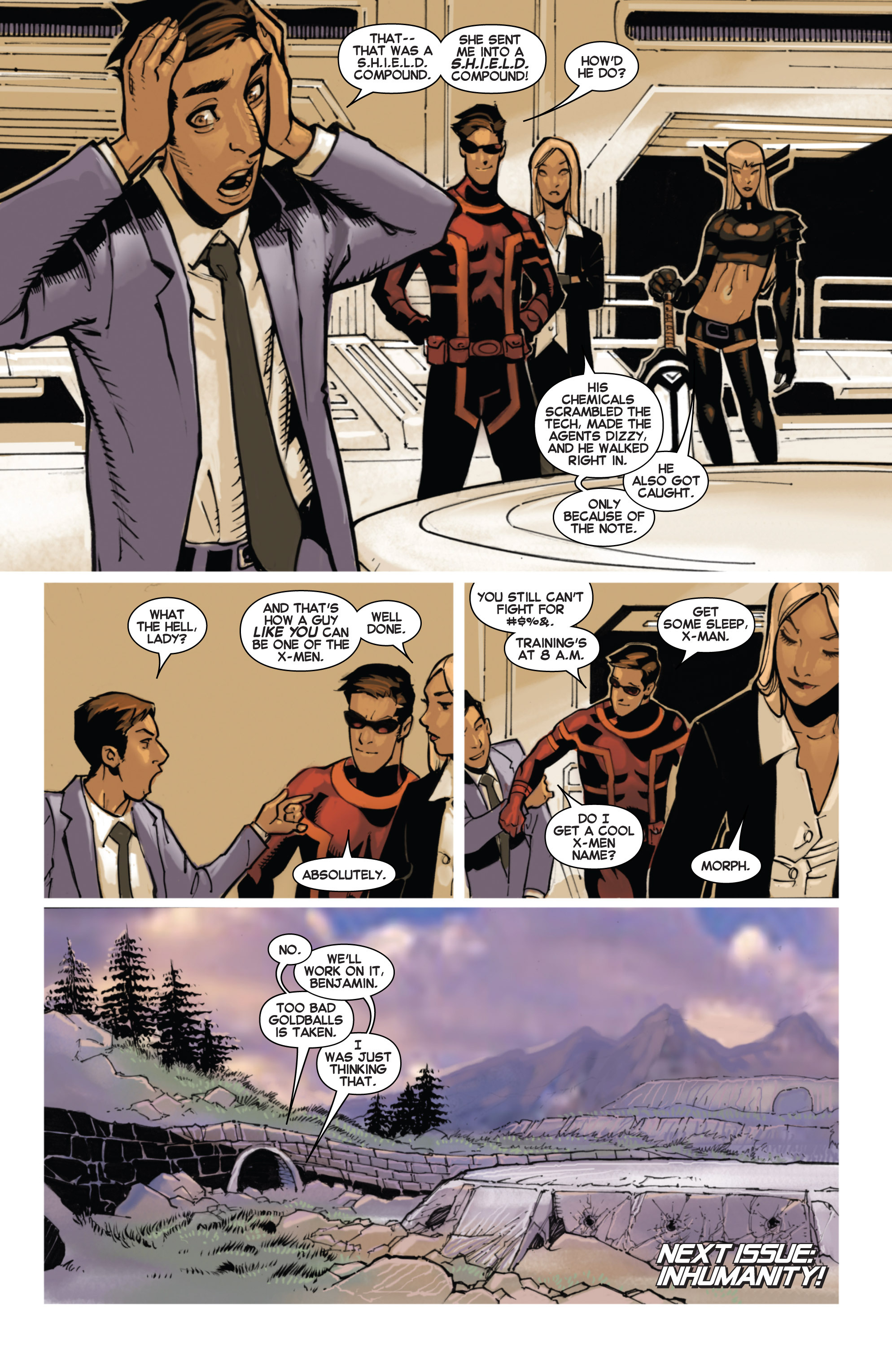 Read online Uncanny X-Men (2013) comic -  Issue # _TPB 3 - The Good, The Bad, The Inhuman - 23