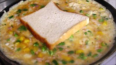 Egg bread recipe-2 मिनट में बन जाने  वाला नास्ता-ब्रेड अंडा नये तरह से