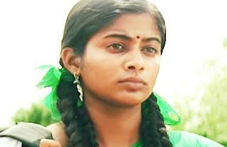 Paruthiveeran movie scenes   Priyamani recollects past   Young Karthi saves Priyamani   Saravanan