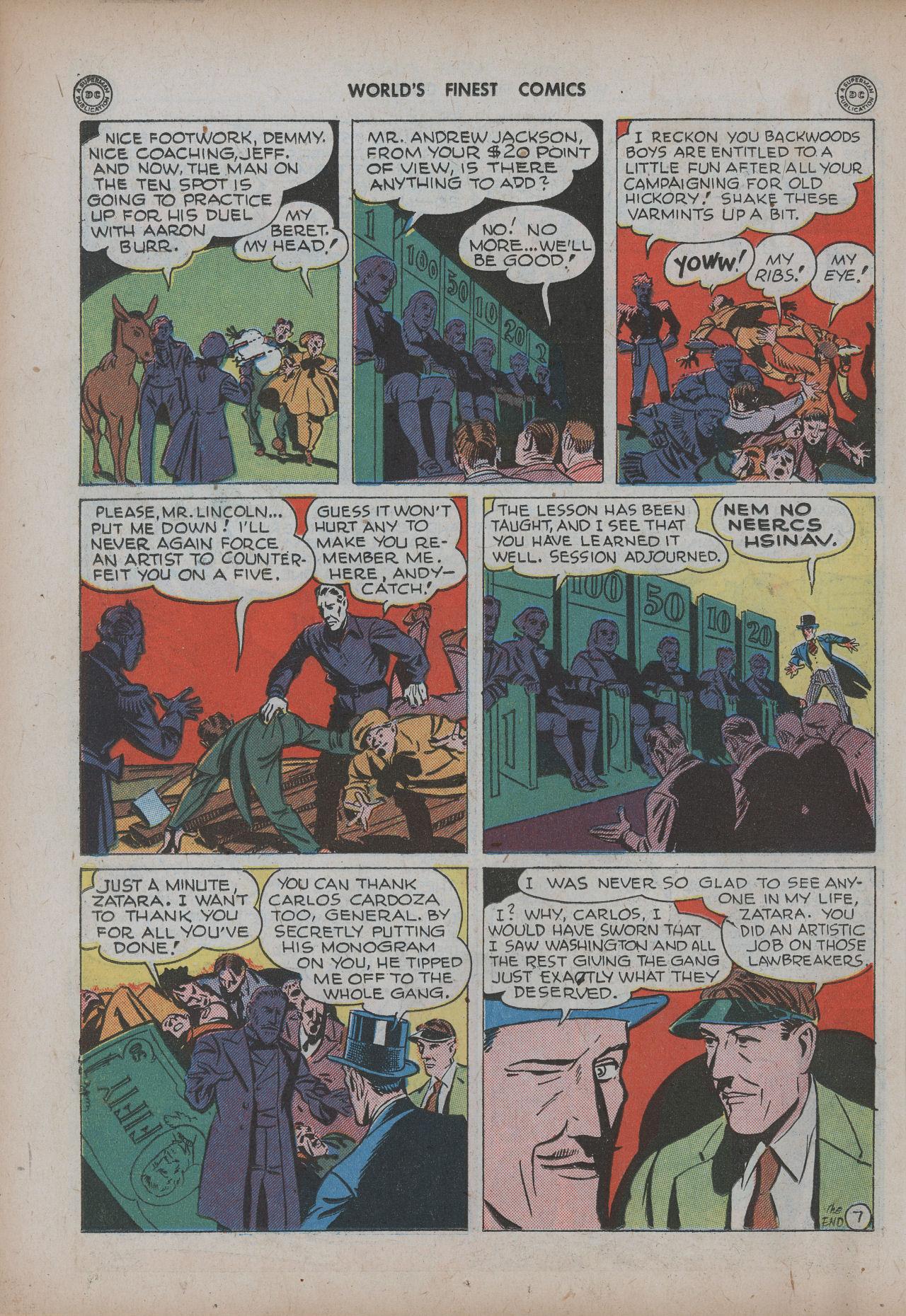 Read online World's Finest Comics comic -  Issue #20 - 34