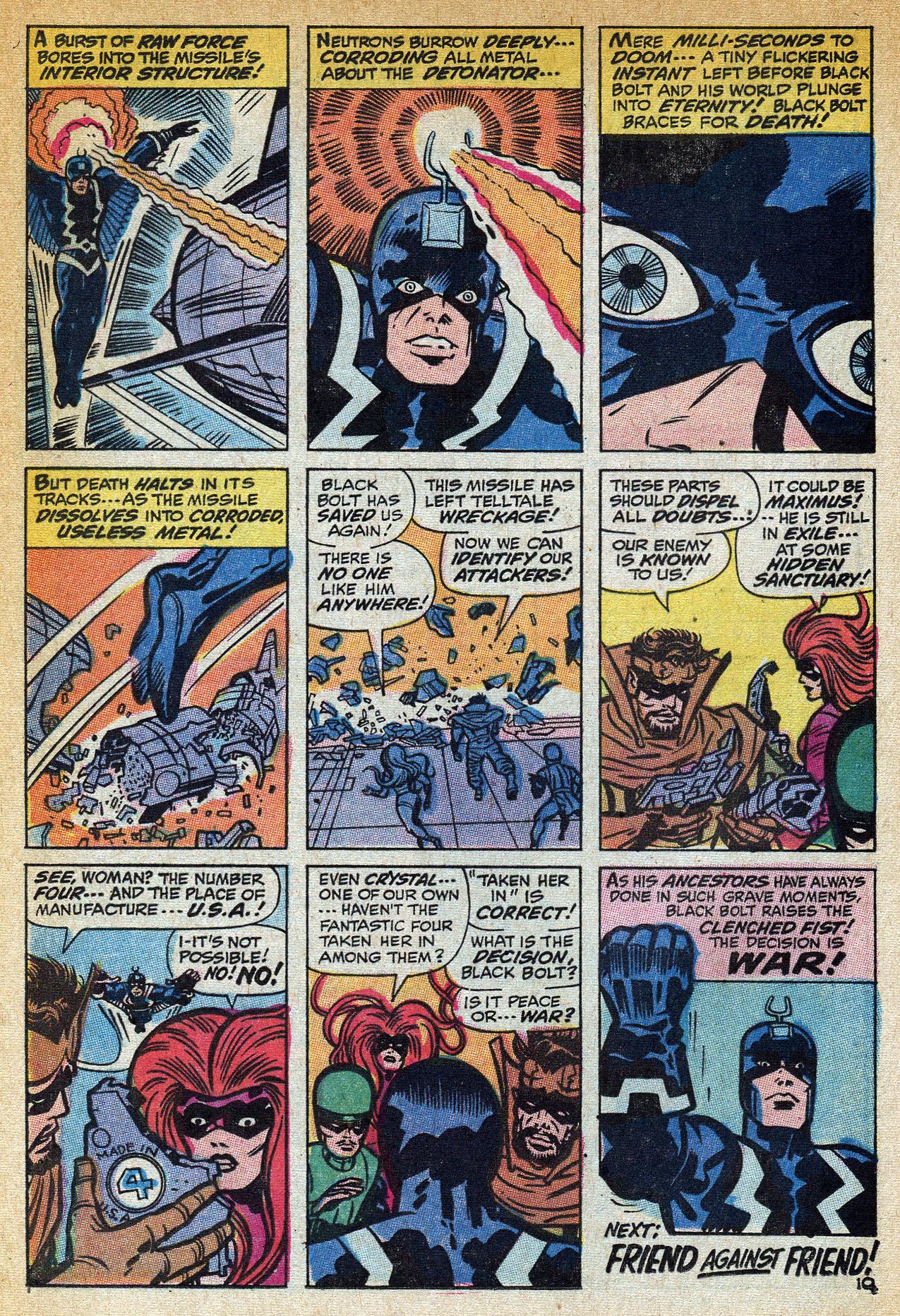 Read online Amazing Adventures (1970) comic -  Issue #1 - 16