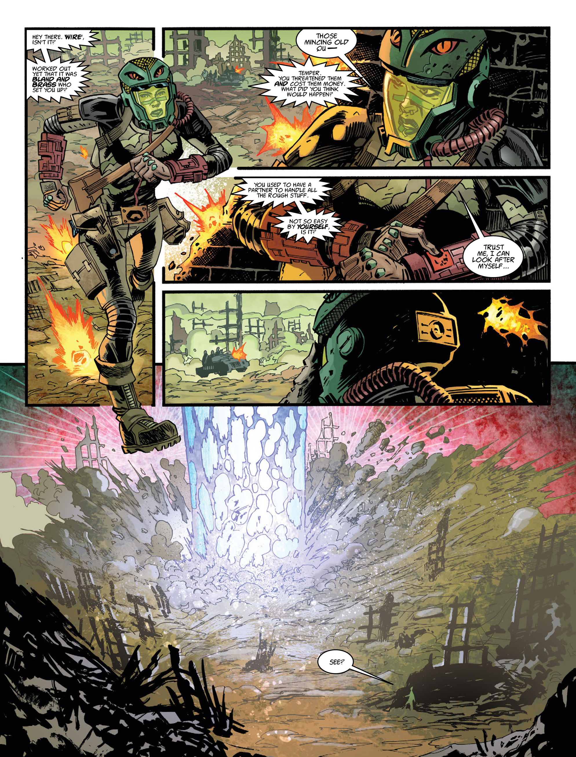 Read online 2000 AD comic -  Issue #2036 - 28