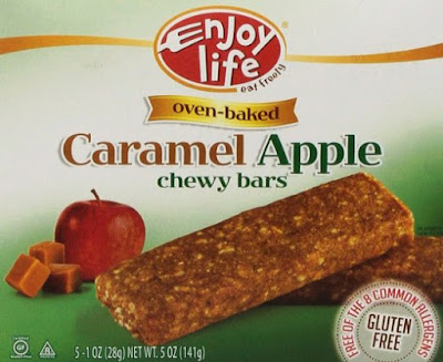 Enjoy Life's Caramel Apple Chewy Bars