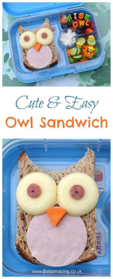 креативные бутерброды фото