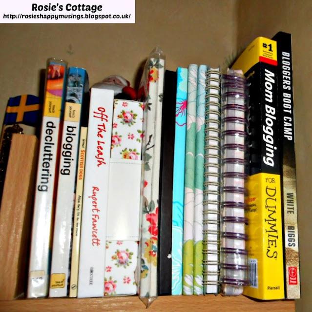 Blogging, decluttering & furbaby books
