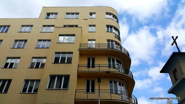 Warszawa Warsaw Stary Mokotów kamienica Luniak modernizm