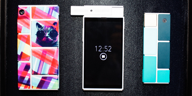 Google demos Project Ara at Google I/O