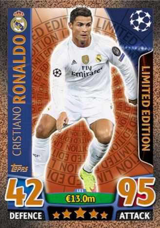Topps - UEFA Champions League Match Attax 2015 16 (06) - Limited Edition 6d76b79130e7f