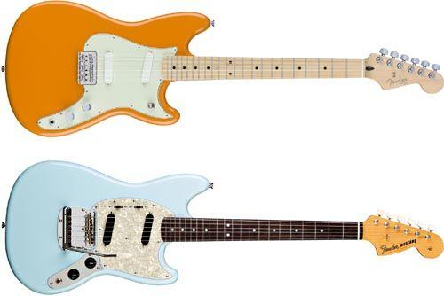 Cualidades de los Modelos de Guitarra Eléctrica Duo-Sonic y Mustang