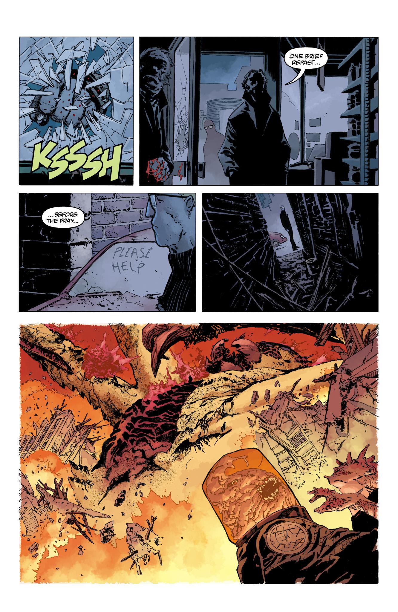 Read online Abe Sapien comic -  Issue #10 - 8