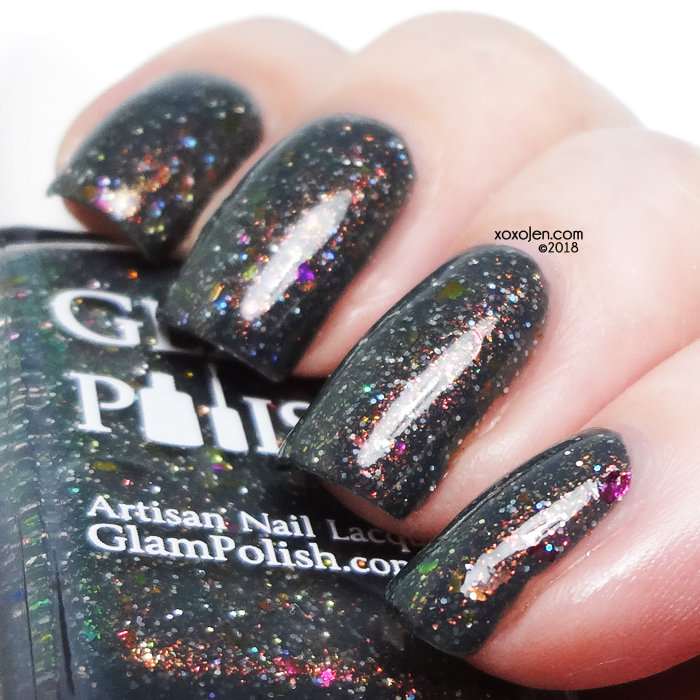 xoxoJen's swatch of Glam Polish 1, 2 Freddy's Coming For You
