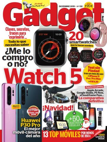 Gadget Número 132: 20 Smartwatches – Diciembre 2019