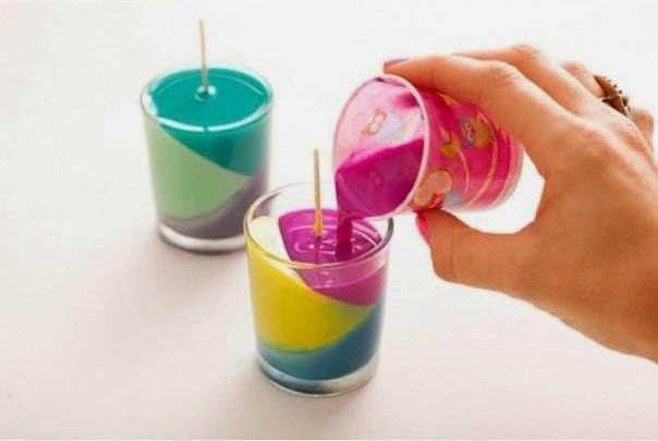 Cara Membuat Kerajinan Tangan Unik Lilin Warna 09