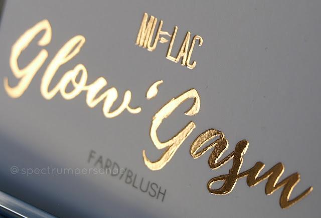 Mulac Cosmetics Glow'Gasm LE box detail