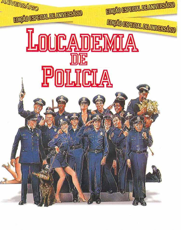 Loucademia de Polícia Torrent - Blu-ray Rip 720p e 1080p Dual Áudio (1984)