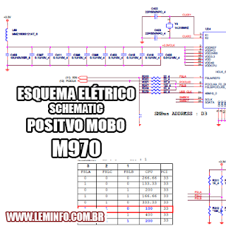Esquema Elétrico Notebook Laptop Positivo Mobo M970 Manual de Serviço  Service Manual schematic Diagram Notebook Laptop Positivo Mobo M970    Esquematico Notebook Laptop Positivo Mobo M970