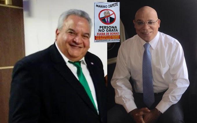 """Grupo """"Guardianes de la Patria"""" abre campaña contra el periodista Marino Zapete por supuesto apoyo a los haitianos"""