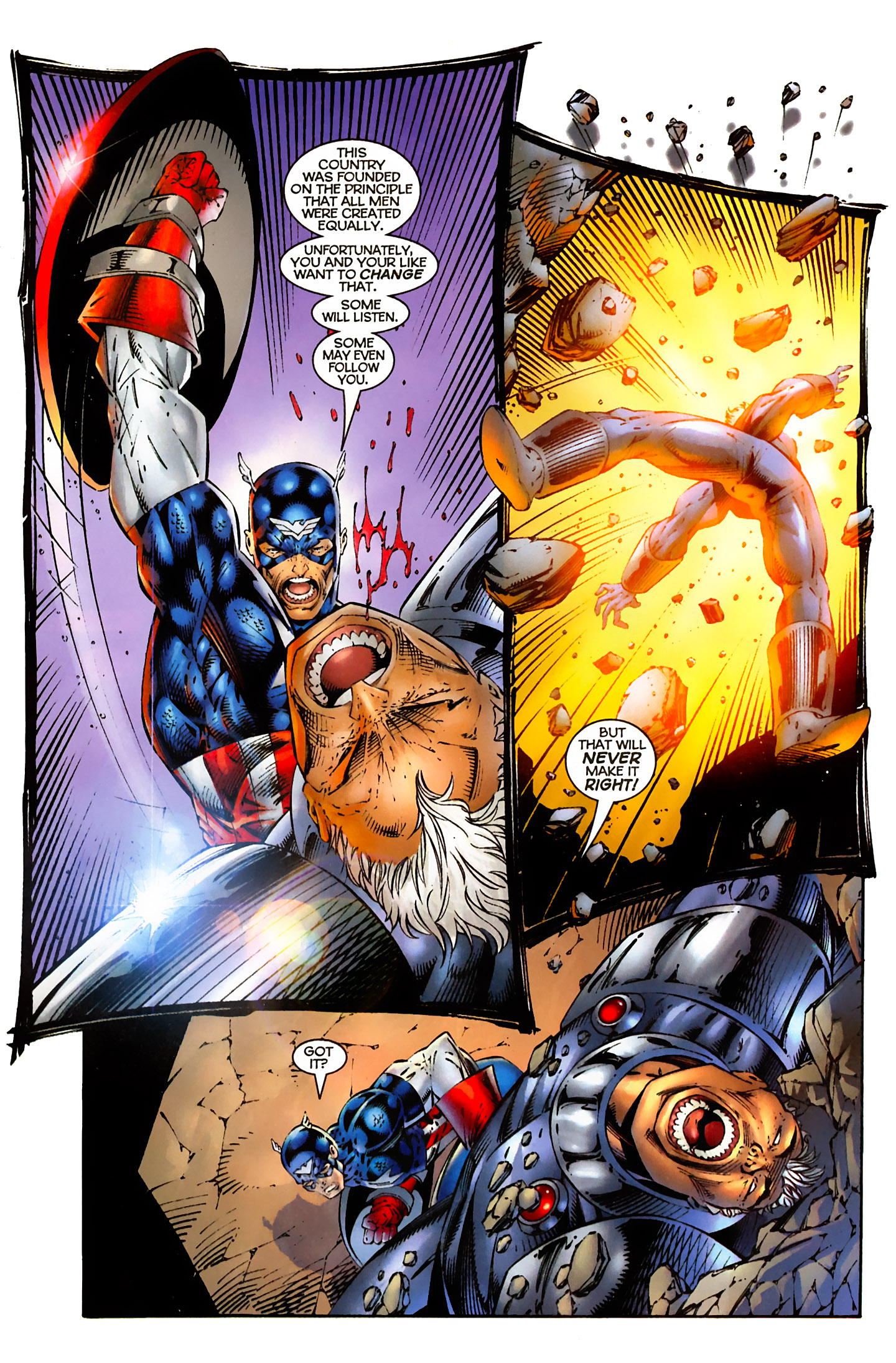 Captain America (1996) Issue #5 #5 - English 9