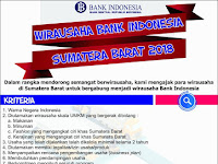 Ingin Gabung Jadi Wirausaha Bank Indonesia? || Cek di mari.....