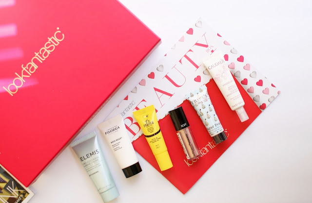 Look Fantastic, beauty box, skincare, make up, Elemis, Caudalie, beauty blogger
