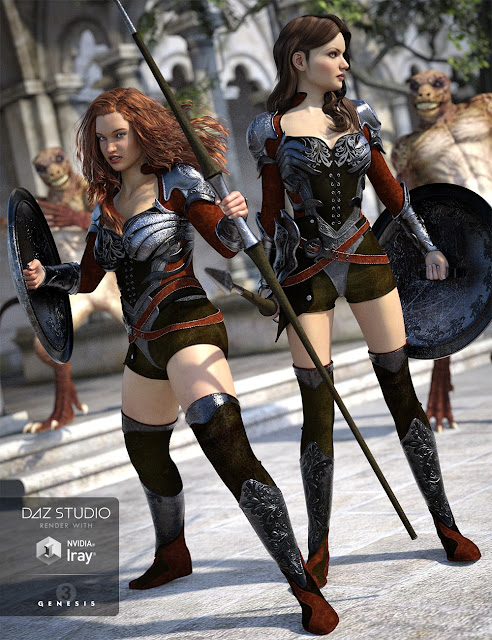 Champion Outfit for Genesis 3 Female