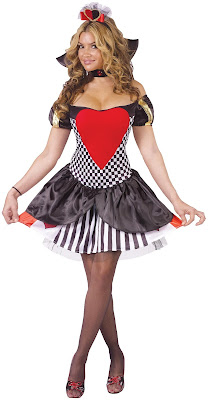 Sexy Queen of Hearts Costume for Halloween