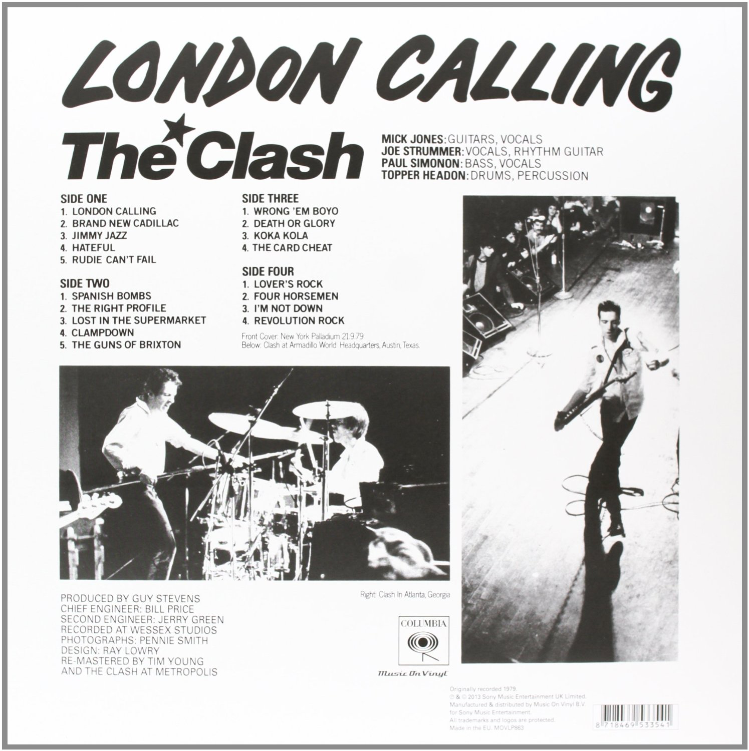 The Punk Panther's Music Reviews: The Clash - London Calling (1979)