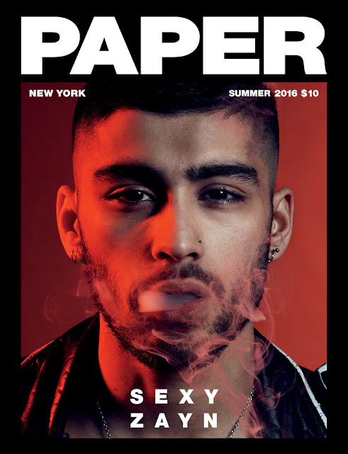olivier rousteing zayn malik paper mag balmain fashion one direction cover boy band style muslim ramadaan 2016 tattoos style