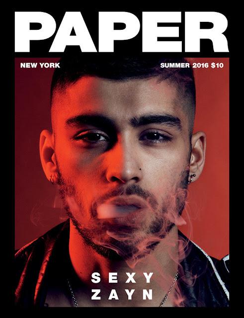 olivier rousteing zayn malik paper mag balmain fashion one direction cover boy band style muslim ramadaan 2016 tattoos style