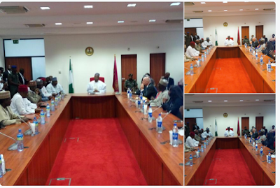 FIFA President Meets With Bukola Saraki At The National Assembly. Photos