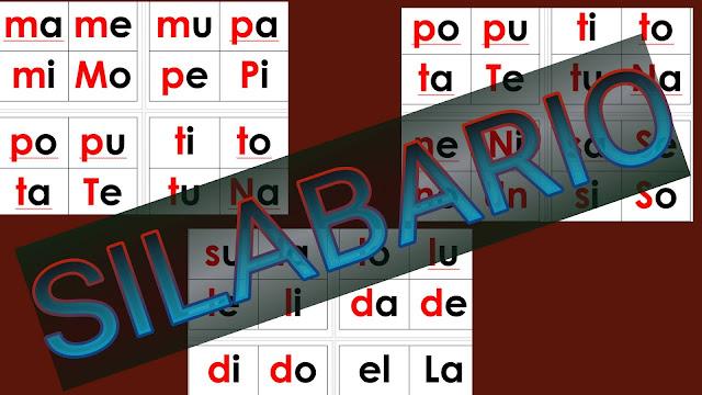 SILABARIO EN FORMATO WORD