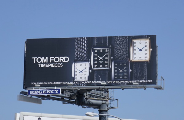 Tom Ford 001 Timepieces billboard