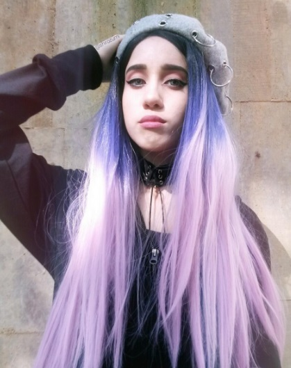 12 Pastel Goth Makeup and Outfits to Inspire You Instagram shirozumi lavender hair