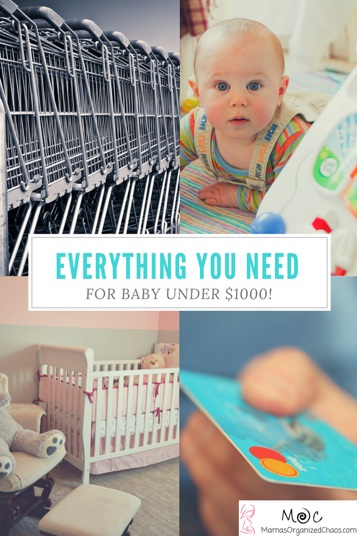 Everything you need for baby, brand new for under $1000.