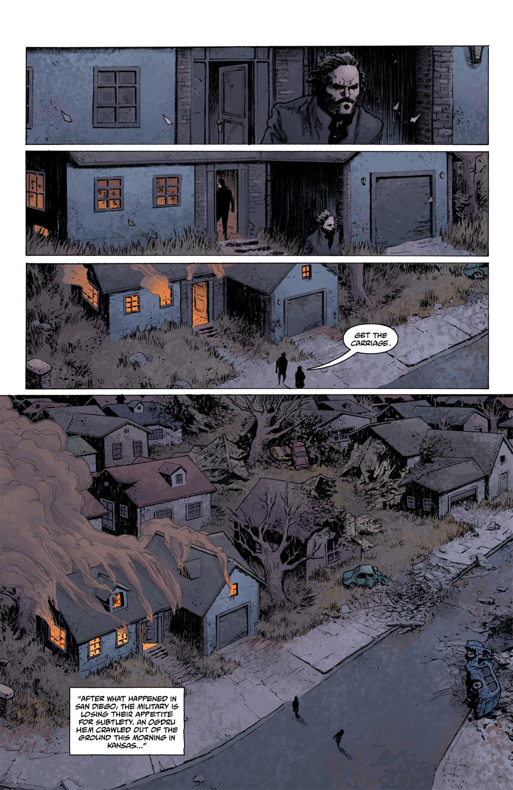 Read online Abe Sapien comic -  Issue #1 - 6