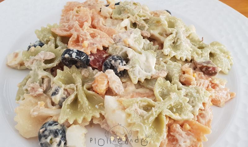 Receta ensalada de pasta con mayonesa
