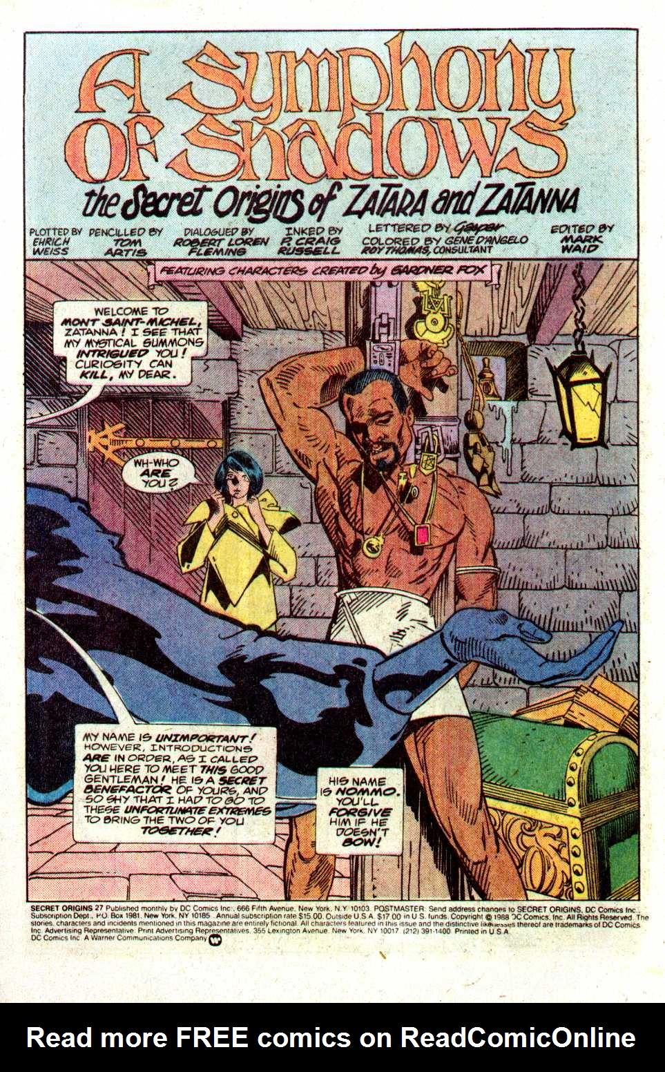 Read online Secret Origins (1986) comic -  Issue #27 - 3
