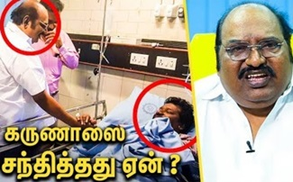J Anbazhagan Interview About Karunas Issue