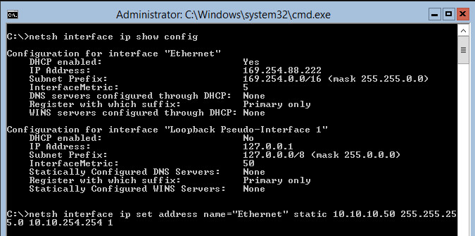 how to set primary dns suffix windows server 2012