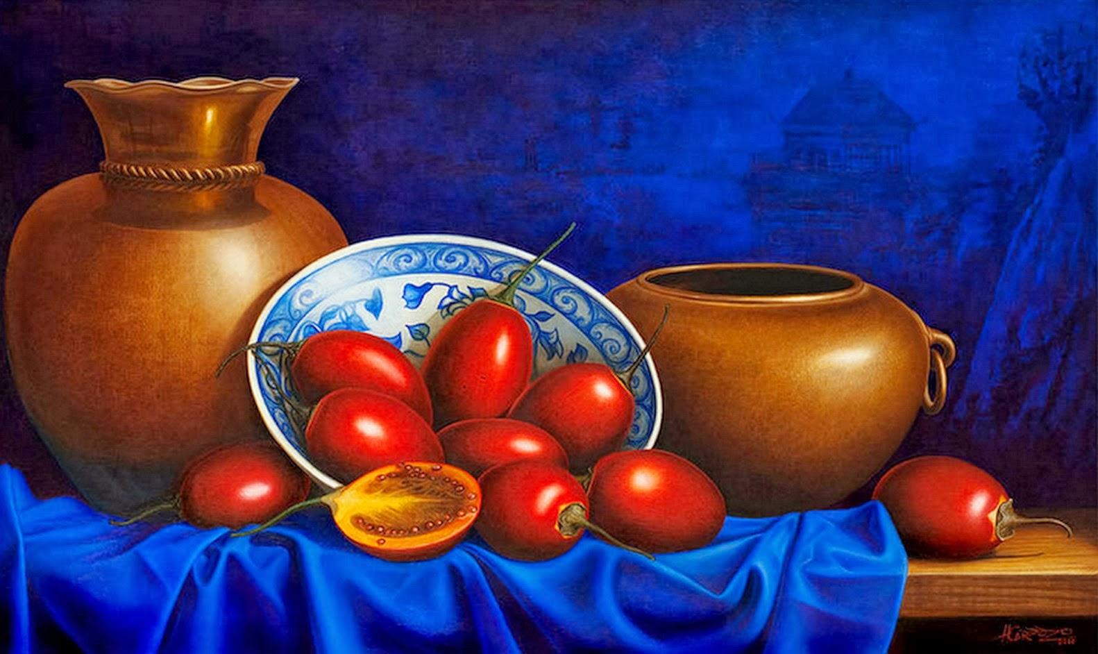 Cuadros modernos pinturas y dibujos cuadros de frutas al for Pinturas bodegones modernos
