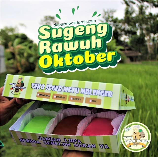 Sugeng Rawuh Oktober Dapur Mpok Duren