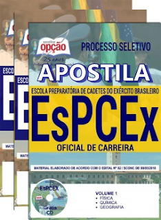 Apostila EsPCEx 2019 - Oficial de Carreira do Exército 2018