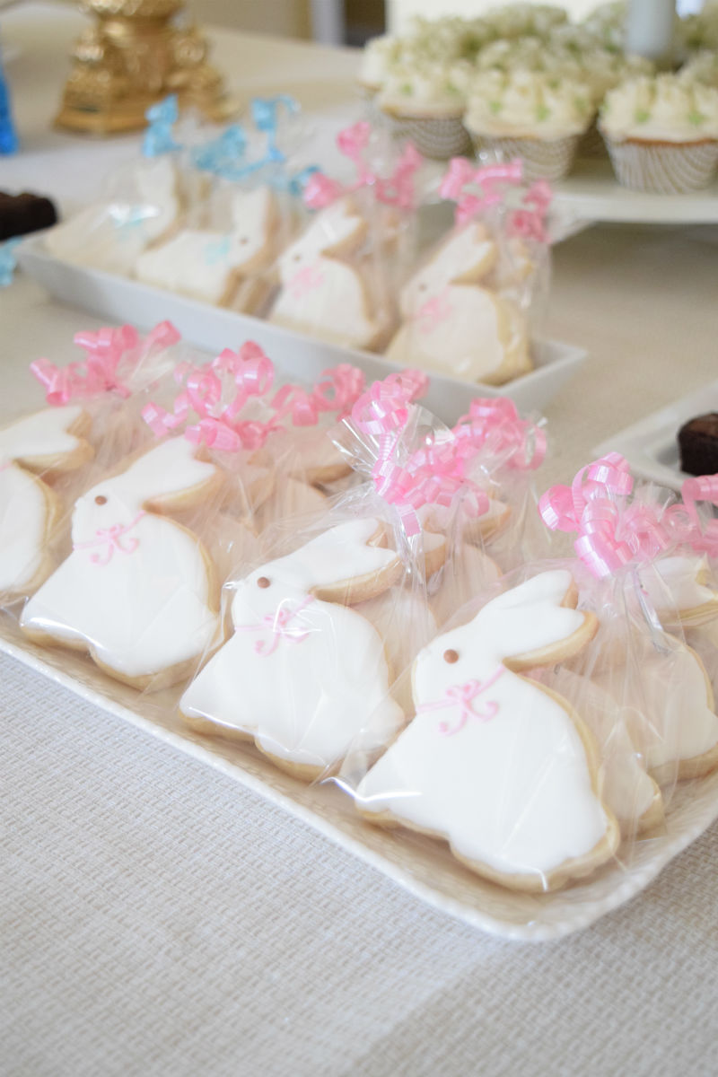 Gender Neutral Baby Shower Dessert Table