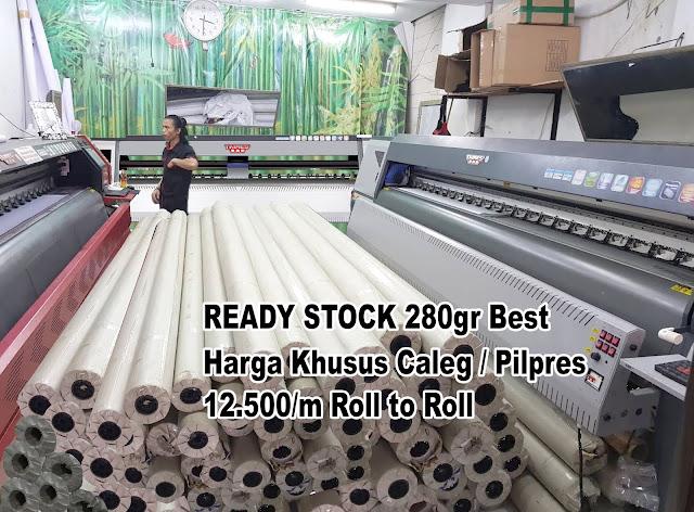 Print Spanduk 24 Jam Harga 12.500 Roll To Roll Rawamangun Jakarta Timur