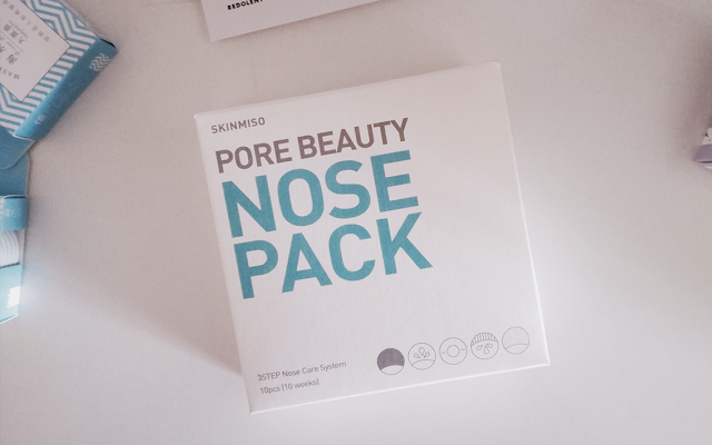 [REVIEW] Skinmiso Pore Beauty Nose Pack