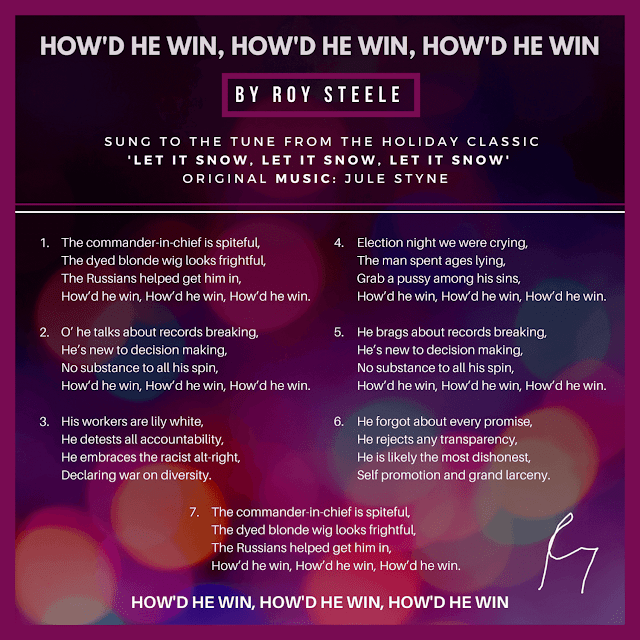 "Song Parody Lyrics for ""How'd he win, How'd he win, How'd he win"""