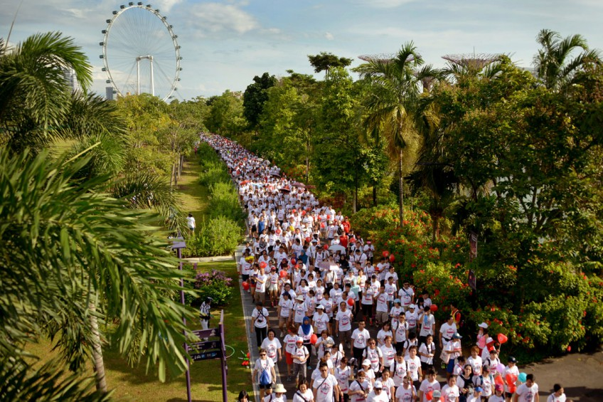 SG50 Jubliee Big Walk