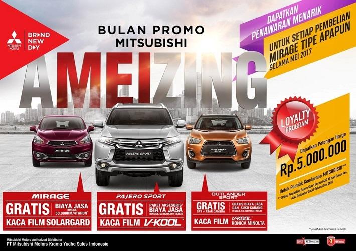 Program penjualan Mitsubishi Bintaro di bulan Mei