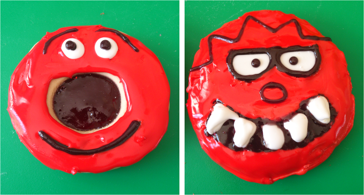 Red Nose Day Cake Labels